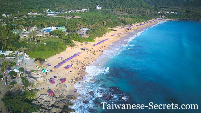Baisha Beach in Kenting National Park