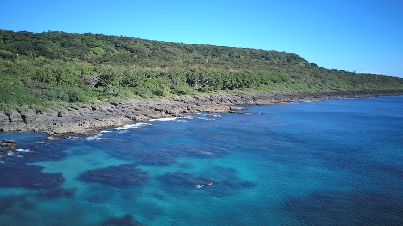 banana bay snorkeling, kenting