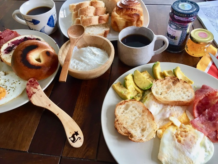 Breakfast at Wild East Guesthouse
