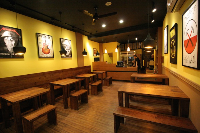 One Month After Opening Pizza Rock 3, We Opened Pizza Rock 4, On Zhong Gang  Rd, In Taichung.