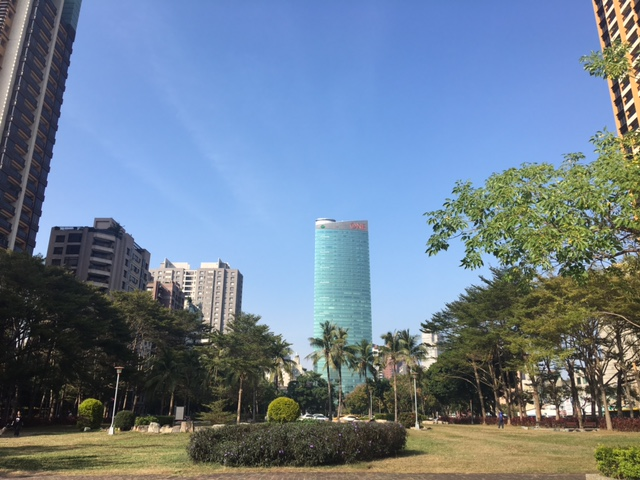taichung city green belt