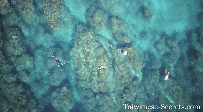 Snorkeling at Banana Bay