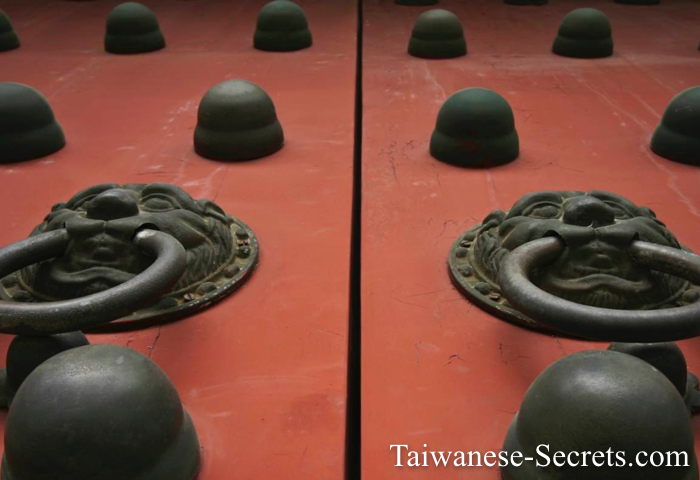 ancient chinese doors