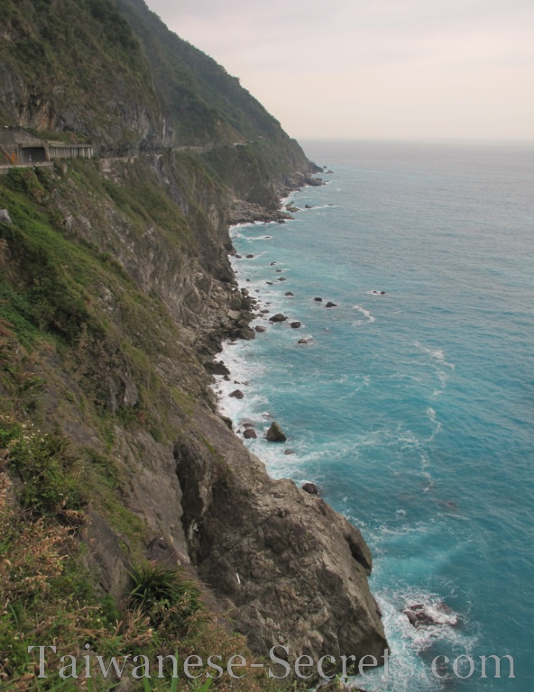 Qingshui Cliffs, also part of Taroko National Park