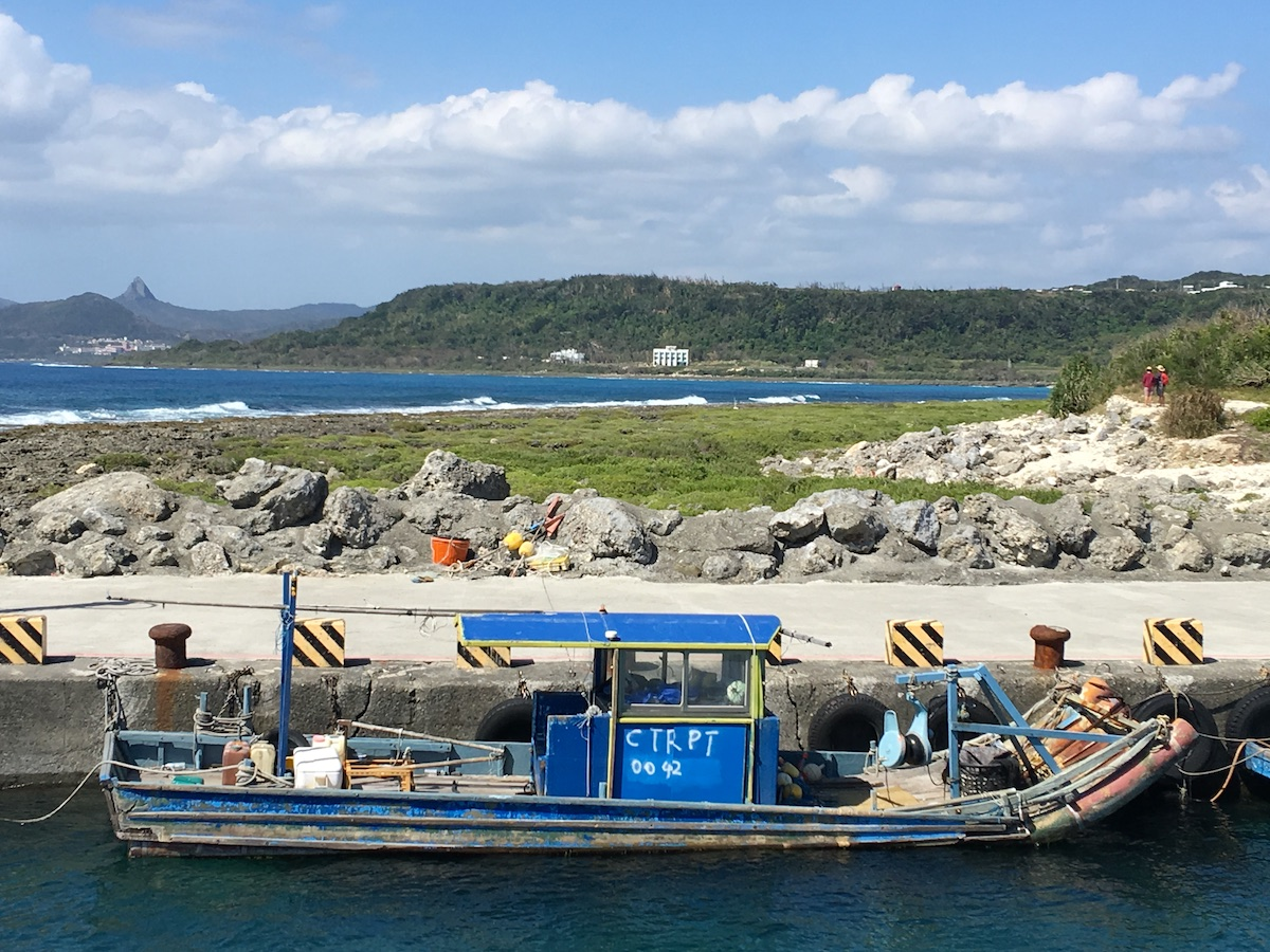 Fishing boat at Bitou Harbour
