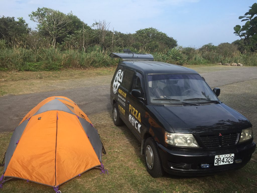 camping in long dong taiwan