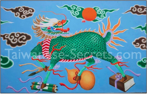 chinese dragons art