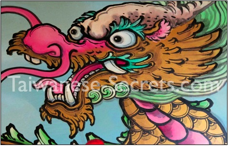 Chinese Dragon Art photo