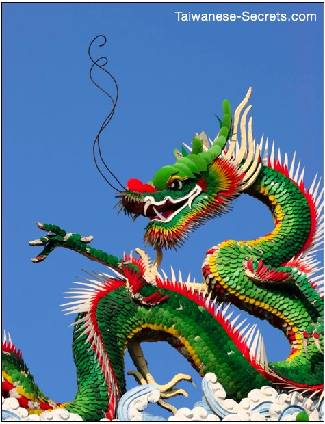 most beautiful chinese dragon picture