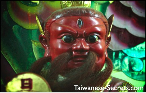 red chinese god of war