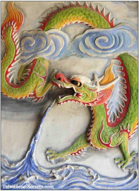 green chinese dragon of heaven
