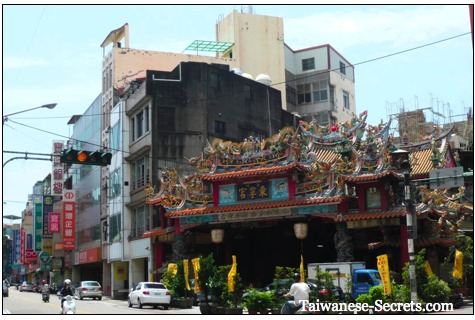 dongning temple, taiwan
