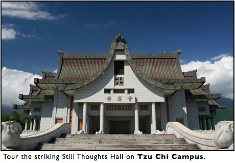 tzu chi campus, still thoughts hall, hualien, taiwan