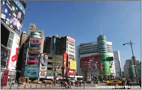 ximending taipei shopping district