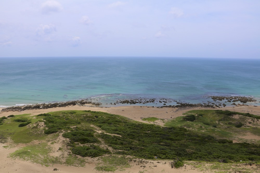 View of the Pacific Ocean near Jialeshui, Kenting