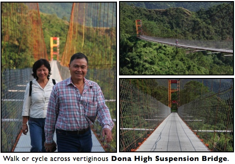 dona high suspension bridge maolin taiwan