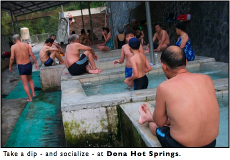 Dona Hot Springs, Maolin, Taiwan