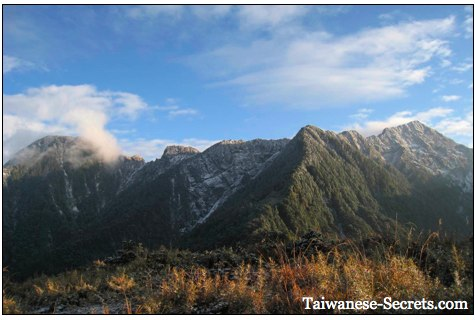 taiwan mountains picture