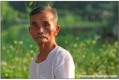 old taiwanese man picture