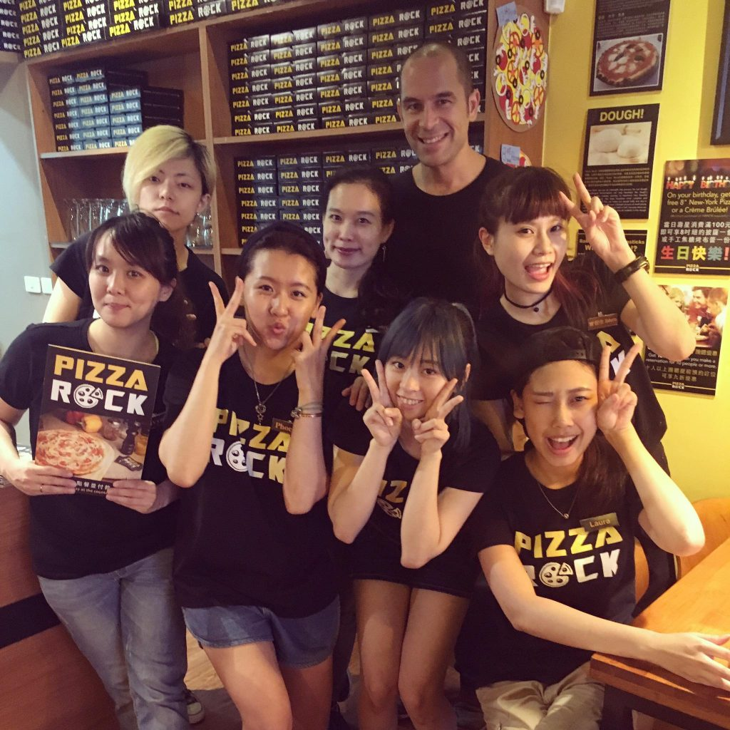 pizza rock kaohsiung
