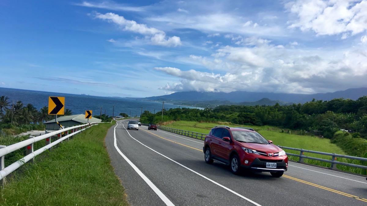 renting a car in Taiwan