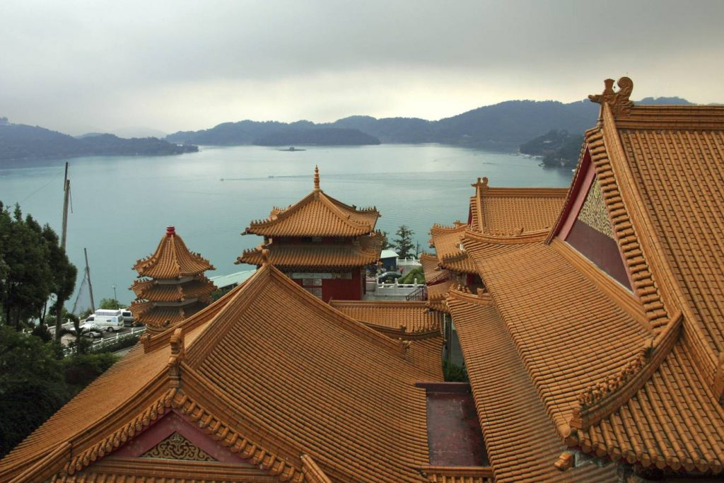taiwan sun moon lake wenwu temple 日月潭台灣文武廟