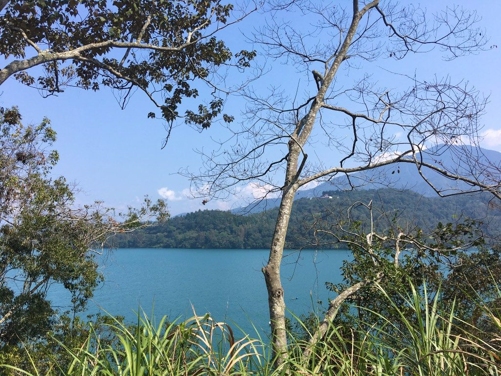 Taiwan's Sun Moon Lake in Nantou County - 台灣日月潭