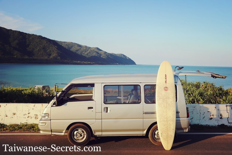 surfing van taiwan