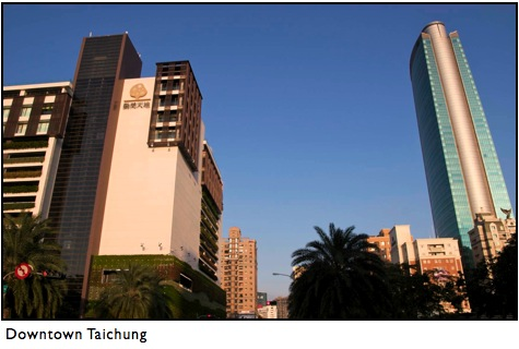 taichung city downtown