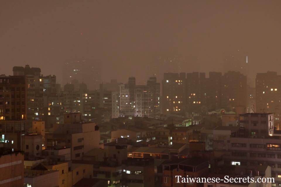 pollution in taiwan, taichung