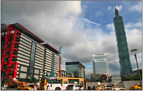 picture of taipei 101 in taiwan
