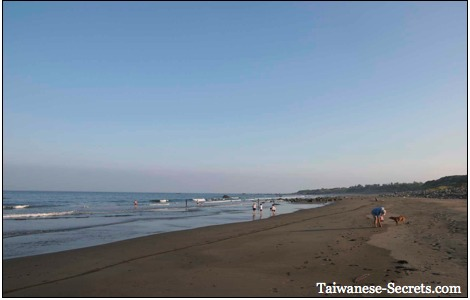 beautiful beach in taiwan