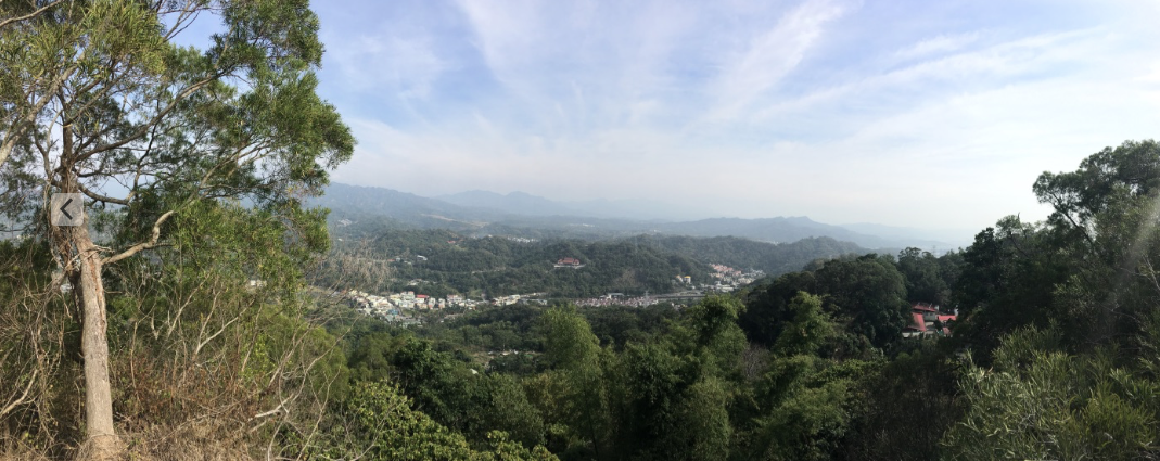 Hiking in Dakeng taichung Taiwan