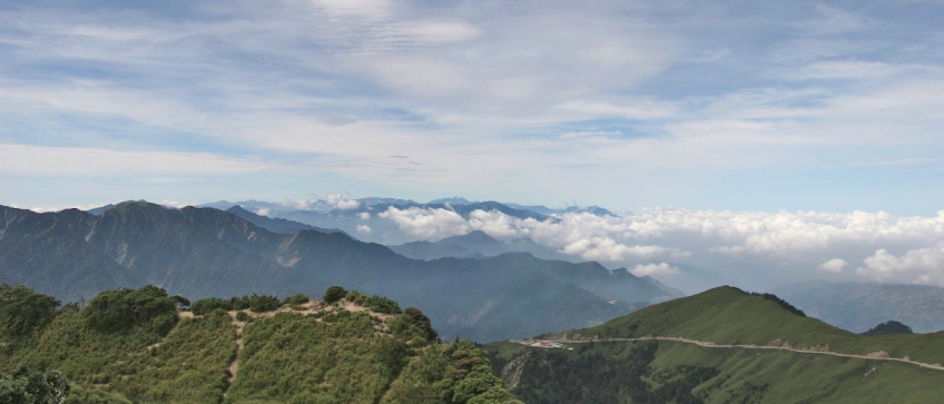 Central Mountain Range Taiwan