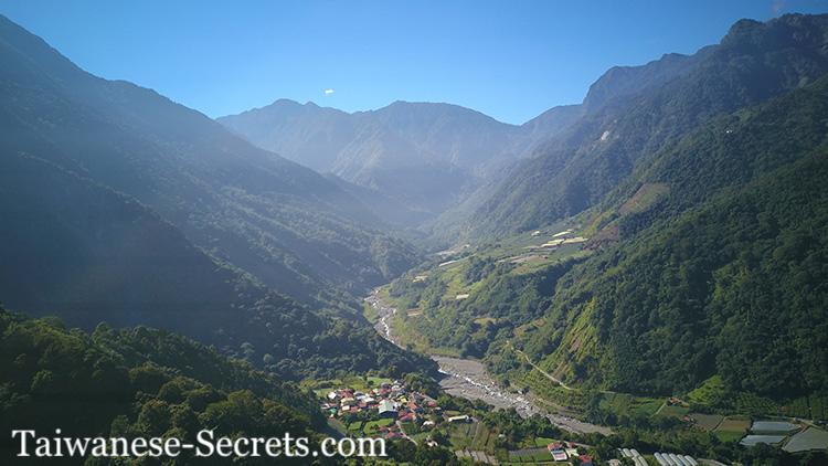 Taiwan mountain chain