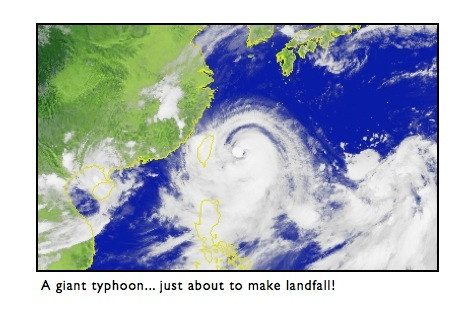 Typhoon Taiwan - Words of Advice From an Expat! Pictures!