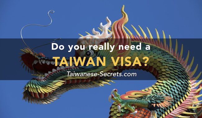 taiwan visa tourist travel