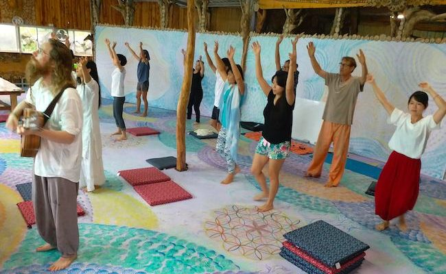 Space for Meditation and Yoga in Taiwan – Taitung Tree House