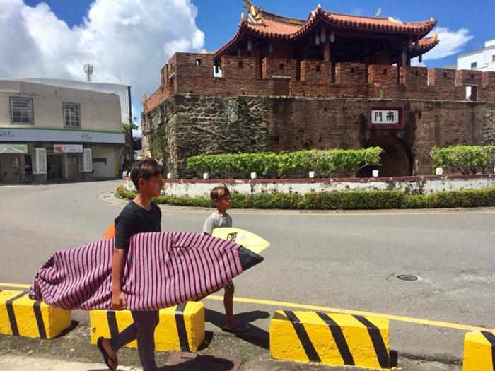 taiwanese surfers