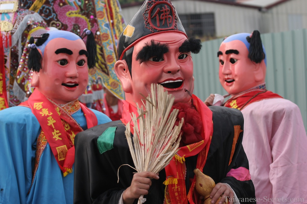 traditional chinese parade in taiwan