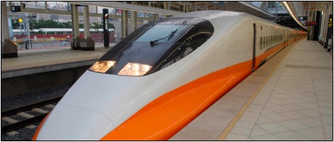 travel to taipei by high speed train