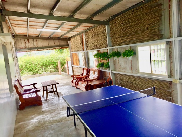 Ping Pong Table at Wild East Guesthouse